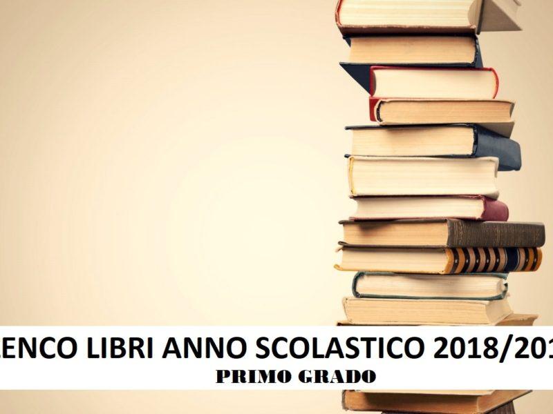 Elenco Libri 2018/2019 – Medie