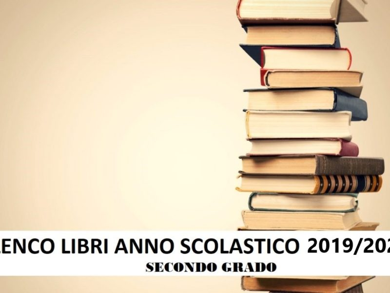 Elenco Libri 2019/2020 Superiori